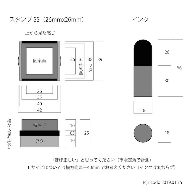 スタンプ詳細図
